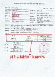 TTA取得中國科學院抗菌報告2