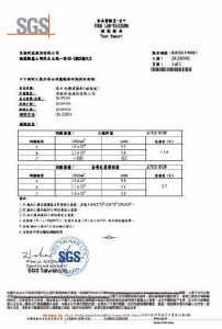 TTA取得抗菌報告13